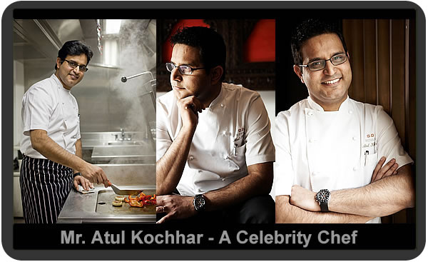 Our Curry On celebrity chef, Mr. Atul Kochhar